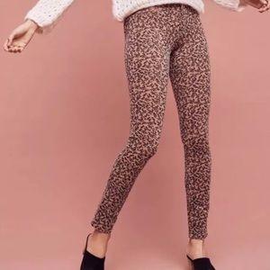 Anthropologie PILCRO skinny pants cords NEW sz 28